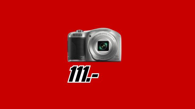 NIKON Coolpix L610 silber ©Media Markt