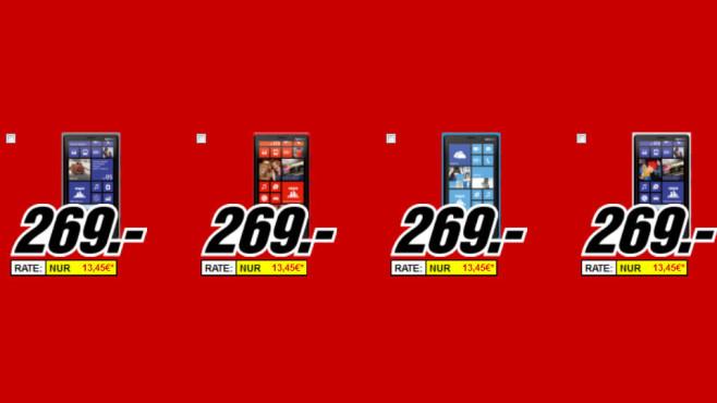 Nokia Lumia 920 ©Media Markt