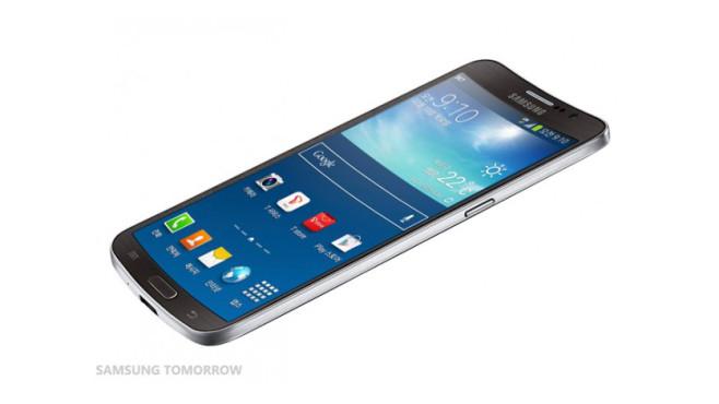 Samsung Galaxy Round: Smartphone mit gebogenem Display ©Samsung