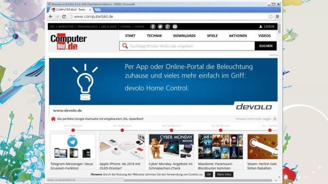 BitBox für Firefox und Chrome: BSI-eigener Browser ©COMPUTER BILD
