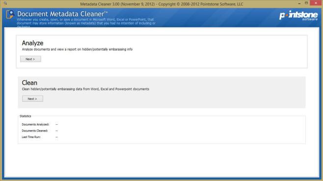 Document Metadata Cleaner: Dokumente von privaten Infos bereinigen ©COMPUTER BILD