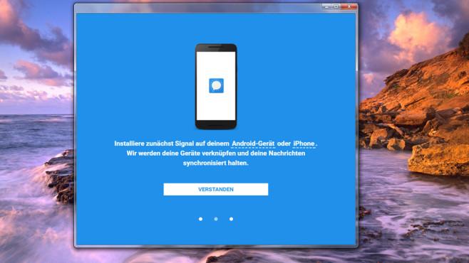 Signal Private Messenger für Chrome: Besser chatten ©COMPUTER BILD