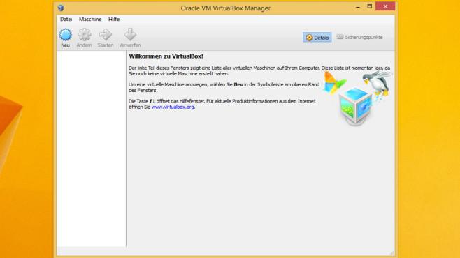 VirtualBox: Programme vom System abschotten ©COMPUTER BILD