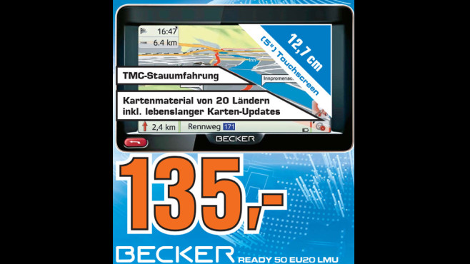 Becker Ready 50 EU20 LMU © Saturn