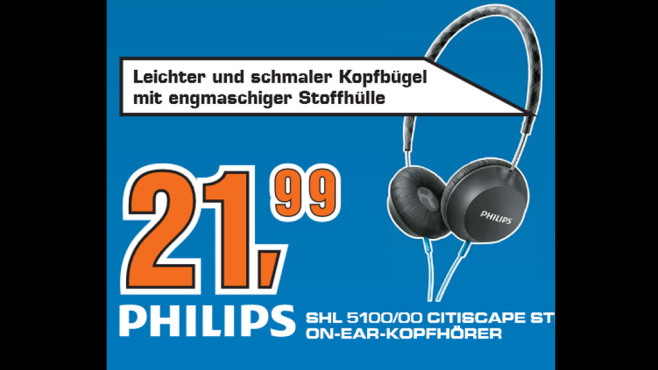 Philips SHL5100 © Saturn