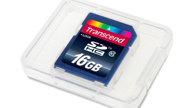 Transcend Extreme-Speed SDHC 16GB Class 10 Speicherkarte © Amazon