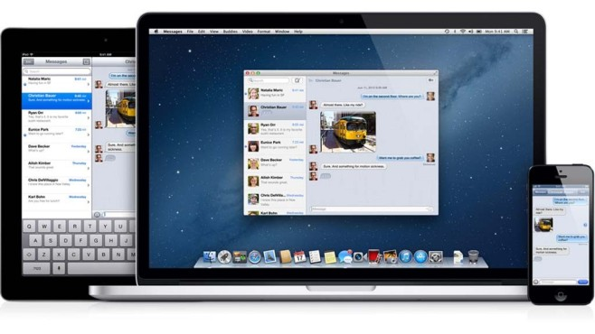 Mac OS X Mountain Lion © Apple