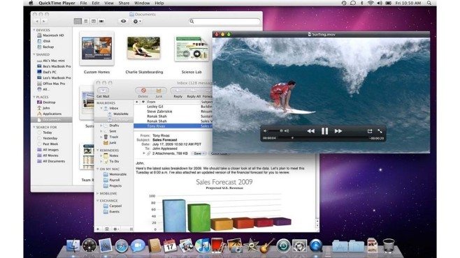 Mac OS X Snow Leopard © Apple