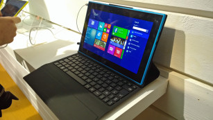 Nokia Lumia 2520: Tastatur ©COMPUTER BILD
