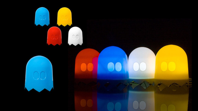 USB-Light-Sensitive Ghost Lamp © brando