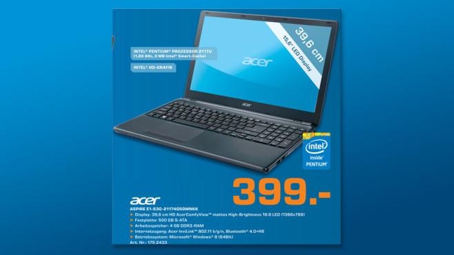 Acer Aspire E1-530-21174G50Mnkk (NX.MEQEG.004) ©Saturn