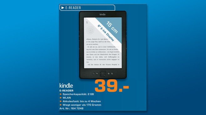 Amazon Kindle (2012) © Saturn