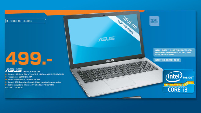 Asus R510CA-CJ679H © Saturn