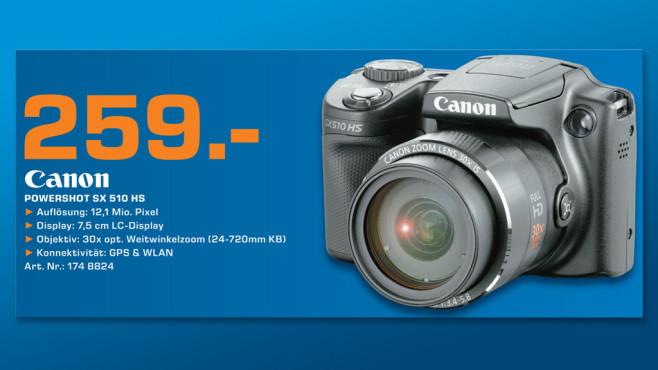 Canon PowerShot SX510 HS ©Saturn
