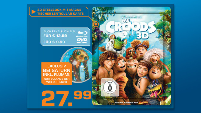 Die Croods 3D © Saturn