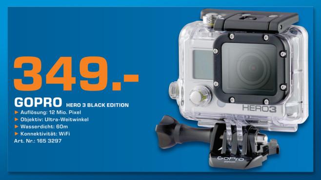 GoPro HERO3 Black Edition ©Saturn