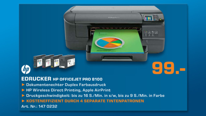Hewlett-Packard HP Officejet Pro 8100 N811a © Saturn