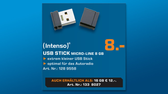Intenso Micro Line 8GB © Saturn