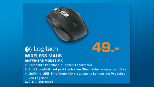 Logitech Anywhere MX © Saturn