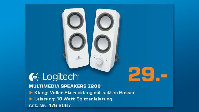 Logitech Z200 ©Saturn