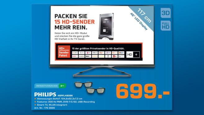 Philips 46PFL4908K ©Saturn