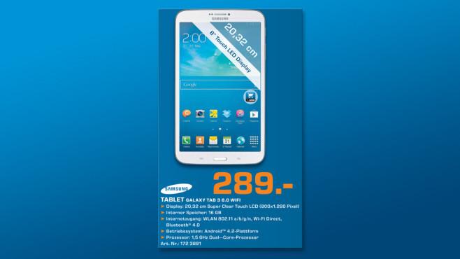 Samsung Galaxy Tab 3 (8.0) ©Saturn