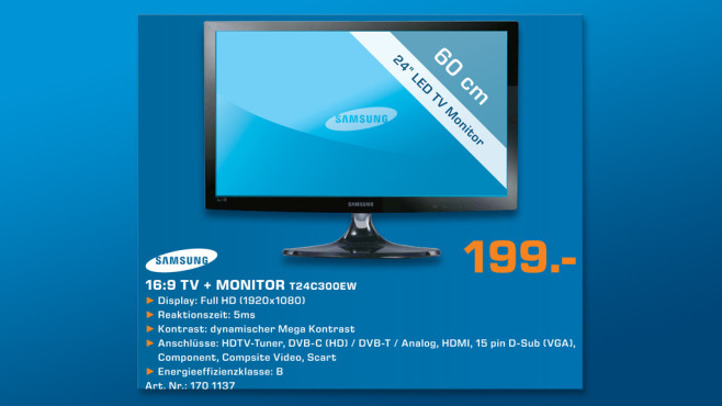 Samsung T24C300EW ©Saturn