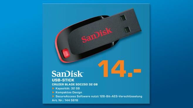 Sandisk Cruzer Blade 32GB ©Saturn
