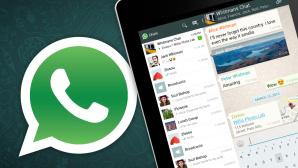 Whatsapp auf dem Tablet ©COMPUTER BILD