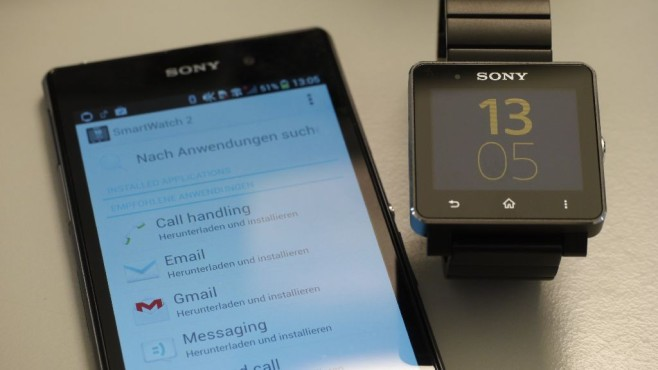 die sony smartwatch 2 sw2 unter der lupe bilder. Black Bedroom Furniture Sets. Home Design Ideas