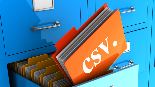 CSV-Datei öffnen ©Maxim_Kazmin – Fotolia.com