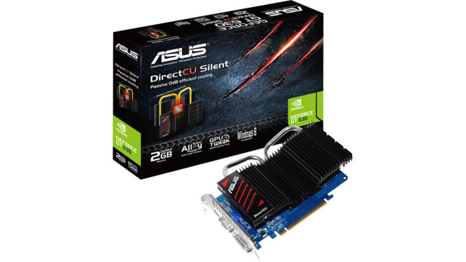 Asus GT630-DCSL-2GD3 (2048MB DDR3) © Asus