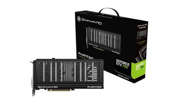 Gainward GeForce GTX 760 Phantom 2048MB DDR5 © Gainward