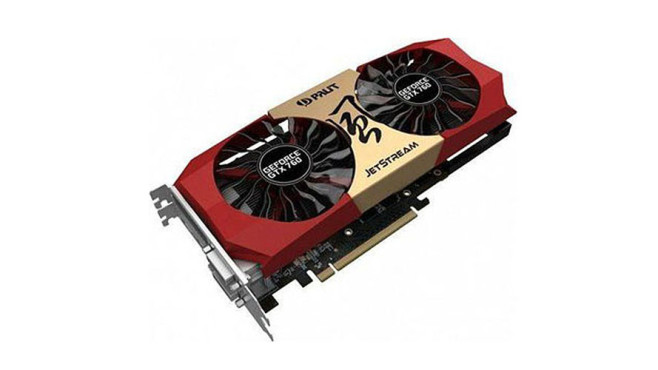 Palit XpertVision Geforce GTX 760 Jetstream 2048MB GDDR5 © Palit