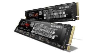 Samsung 960 Pro und 960 Evo ©Samsung