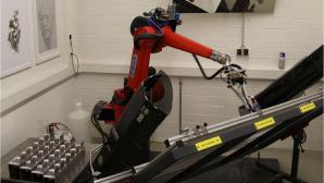 Mal-Roboter e-David ©Universität Konstanz