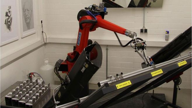 Mal-Roboter e-David ©Universit�t Konstanz