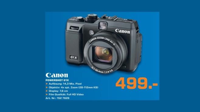 Canon PowerShot G1 X ©Saturn