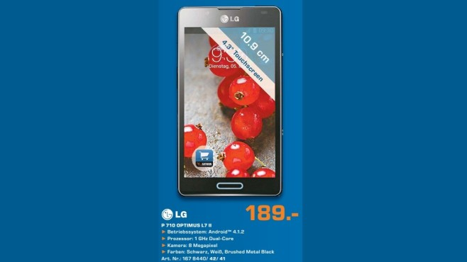 LG Optimus L7 II © Saturn