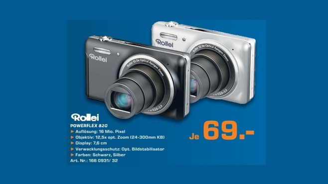 Rollei Powerflex 820 © Saturn