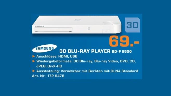 Samsung BD-F5500 ©Saturn