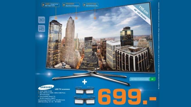 Samsung UE46F6500 ©Saturn