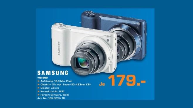 Samsung WB800F ©Saturn