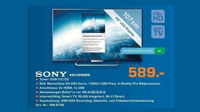 Sony KDL-42W655 ©Saturn