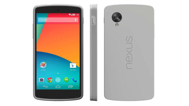 Nexus 5 Cover © Google
