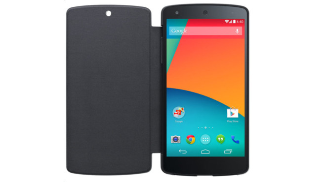 Nexus 5 QuickCover © Google
