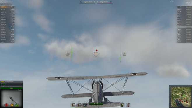 Online Actionspiel World of Warplanes: Tipps & Tricks © wargaming.net