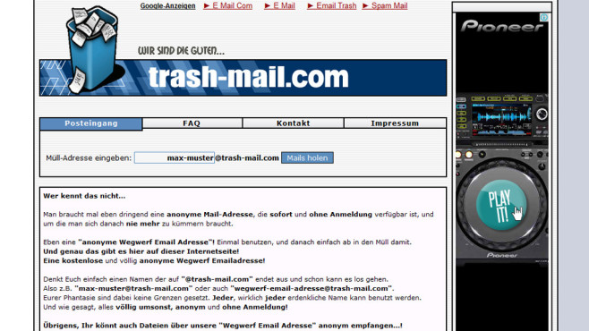 trash-mail.com © trash-mail.com