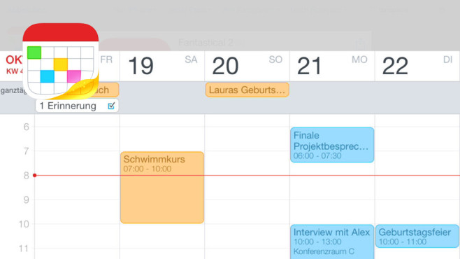 Fantastical 2 © Flexibits Inc., COMPUTER BILD