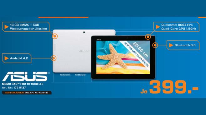 Asus MeMO Pad FHD 10 16GB 4G ©Saturn